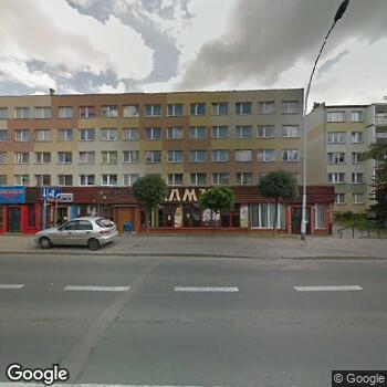 Widok z ulicy Denta Smile Małgorzata Kęnska