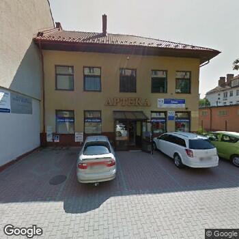 Widok z ulicy NZOZ Trio-Med b Nowak, R. Leyko, E.Szymańska